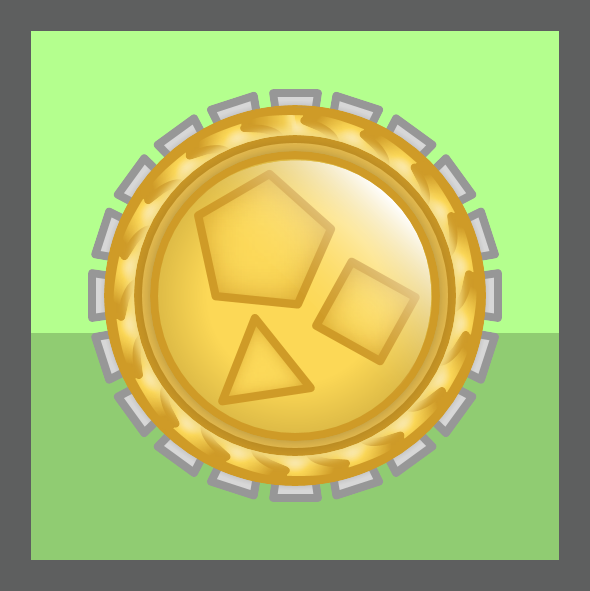 Wikia Conception Tournament Medal - Polygons Category