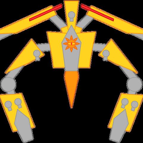 Ra's true form.