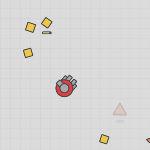 Auto-Gunner with Polygons.