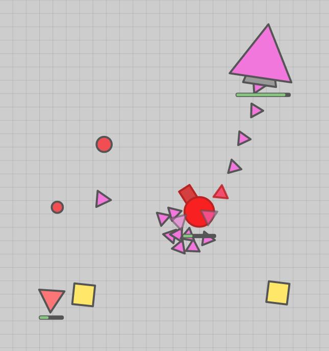 Triangle Boss Attack
