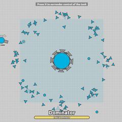 Dominator được chơi như thể này đây.