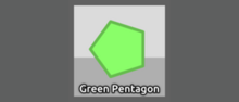 Diep.io.PolygonProfile Green Pentagon NEW Nav