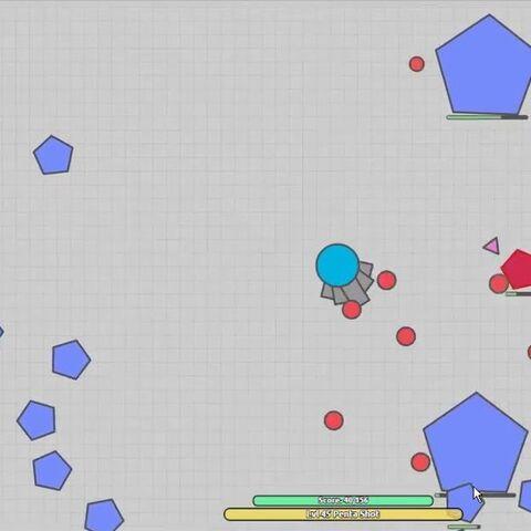<b>Pentashot</b> atacando pentágonos en el modo <a href=