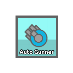 Auto Gunner with mounted Auto Turret