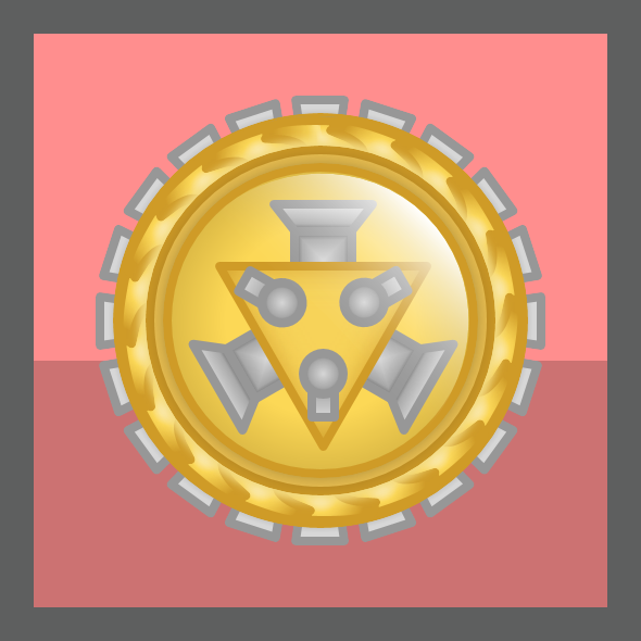 Wikia Conception Tournament Medal - Complex Bosses Category