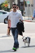 Joe-Jonas-Mosley-Tribe-Sunglasses-All-Saints-Sweatshirt-Diesel-Jeans-Nike-Blazer-SP-Sneakers