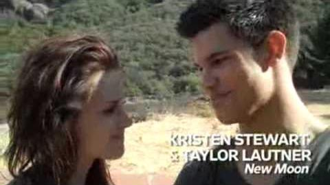 Taylor Lautner's HOT backflip to impress kristen Stewart !!