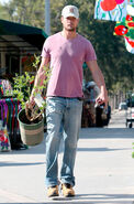 Josh Duhamel Buying Plants 2