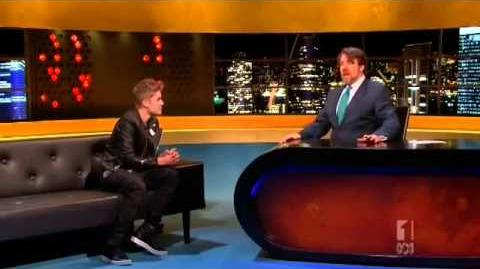 Justin Bieber on the Jonathan Ross Show