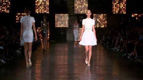 Diesel Black Gold SS15 Womenswear Fashion Show