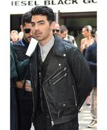 Joe-jonas-wears-a-black-biker-leather-jacket-888x1080