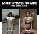 Women's intimate and beachwear spring summer 2015 campaign