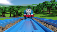 TOMICA Thomas Friends Short 47 Journey Beyond Realism Journey Beyond Sodor Trailer Parody YouTube (6)