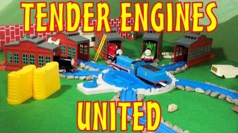 TOMICA Thomas & Friends Short 2- Tender Engines United