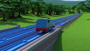 TOMICA Thomas Friends Short 47 Journey Beyond Realism Journey Beyond Sodor Trailer Parody YouTube (27)