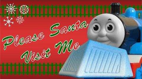 TOMICA Thomas & Friends Music Video Please Santa Visit Me