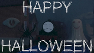 Slender Engine Halloween