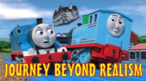 TOMICA Thomas & Friends Short 47- Journey Beyond Realism (Journey Beyond Sodor Trailer Parody)