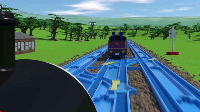 File:TOMICA Thomas Friends Short 45 The Great Bridge Jump The Great Race Parody YouTube (10).png