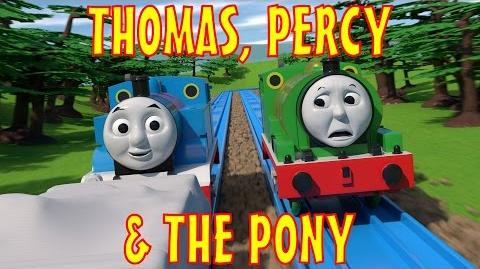 TOMICA Thomas & Friends Short 46- Thomas, Percy & the Pony
