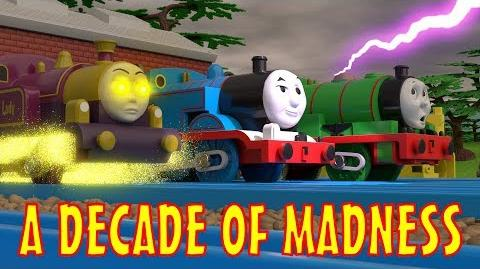 TOMICA Thomas & Friends Short 48- A Decade of Madness