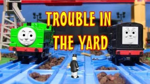 TOMICA Thomas & Friends Short 24 Trouble in the Yard