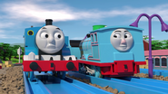 TOMICA Thomas Friends Short 47 Journey Beyond Realism Journey Beyond Sodor Trailer Parody YouTube (34)