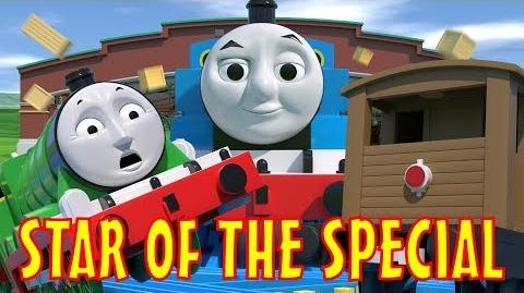 TOMICA Thomas & Friends Short 49 Star of the Special (Journey Beyond Sodor Crash Parody)-0