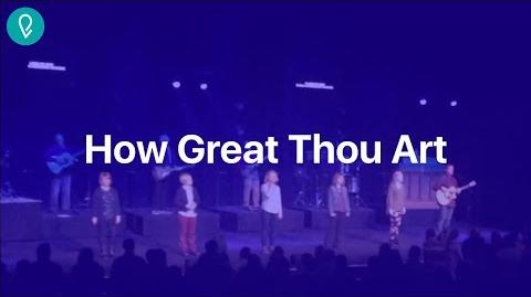 How Great Thou Art (Live)