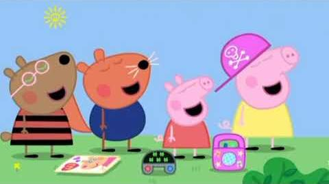 Peppa Pig Plays A Game Called Sauce-E