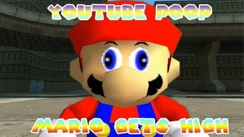 -YTP- Super Mario 64 Bloopers- Mario Gets High (READ DESCRIPTION)