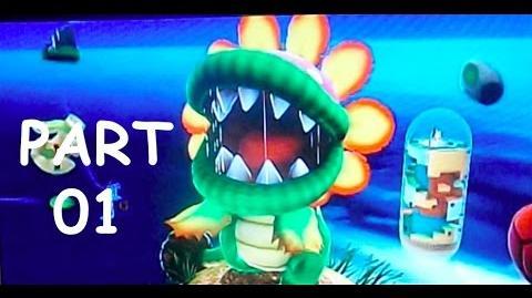 Let's Play Super Mario Galaxy Part 1 - Dino Piranha