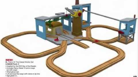 New Day of the Diesels Wooden Railway Products for 2011 - Thomas and Friends