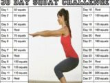 Workout: 30 Day Squat Challenge