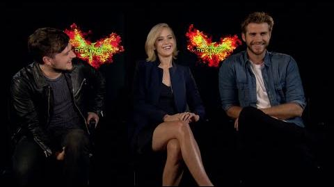 Mockingjay Part 2 Interviews - Lawrence, Hutcherson, Hemsworth, Sutherland, Dormer