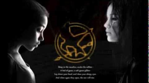 The Hunger Games - Deep in the Meadow (lyrics)
