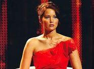 Katniss beim interwiew