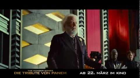 "DIE TRIBUTE VON PANEM - The Hunger Games - TV Spot 1 20"" HD (Deutsch German) - Ab 22.3"