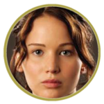 Tribute Button Katniss