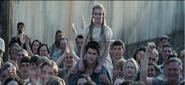Prim als Katniss die Spiele gewonnen hat