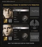 District 6 Tributes