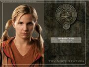 District 6 tribute girl