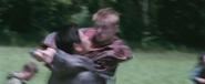Cato tötet einen Tribut