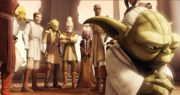 Members of teh Council during the Clone War