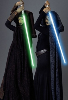 Luminara and Barriss