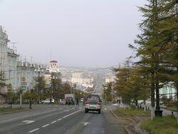 Magadan, Lenin-Street