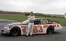 220px-Dale Earnhardt Jr with Nationwide Series No 83 car