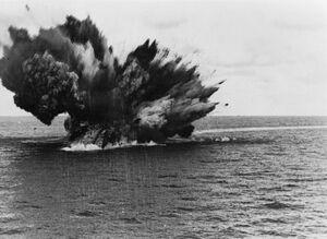 HMS-Barham-explodes