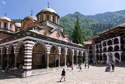 Rila Monastery, August 2013