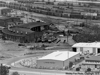 Bayshore Roundhouse 1978